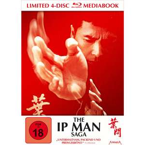 The Ip Man Saga (Limited Mediabook, 4 Discs) (Blu-ray Disc) für 24,99€ (bzw. 22,49€) (Lokal Müller)
