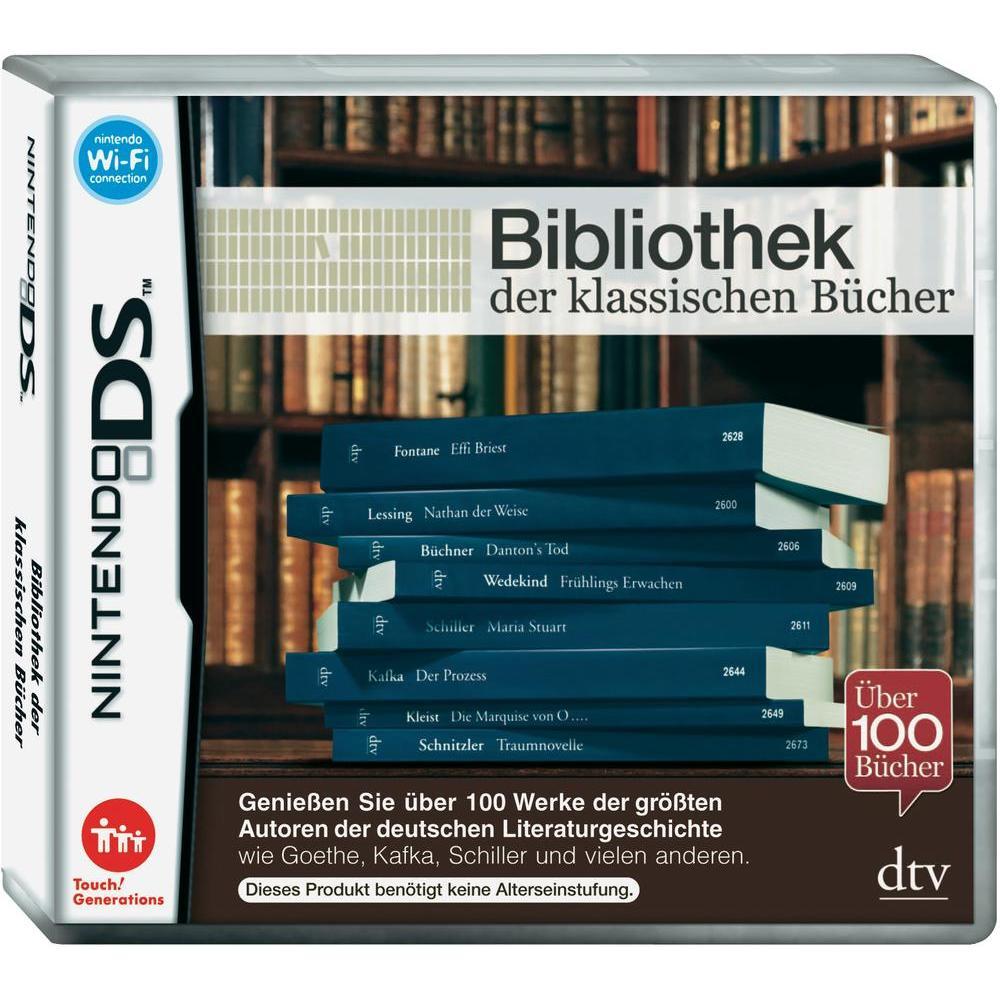 Bibliothek der klassischen Bücher (Nintendo 3DS/2DS) mit 100 Romanen für 1,32€ bei Conrad Filialen