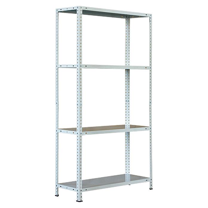 Metallregal 150 cm x 80 cm x 30 cm für 11,95 € inkl. Versandkosten von Bauhaus [online]