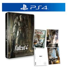 Fallout 4 + Steelbook & 3 Postkarten (PS4/Xbox One) für 21€ (Game.co.uk)
