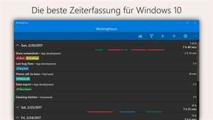 "[Windows 10] Zeiterfassungs-App ""WorkingHours"" PRO-Features kostenlos (statt 7,89€)"