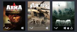 Humble Arma Bundle bei [Humble Bundle] [Steam] - z.B. Arma: Cold War Assault + Gold Edition + Tactics für 0,94€