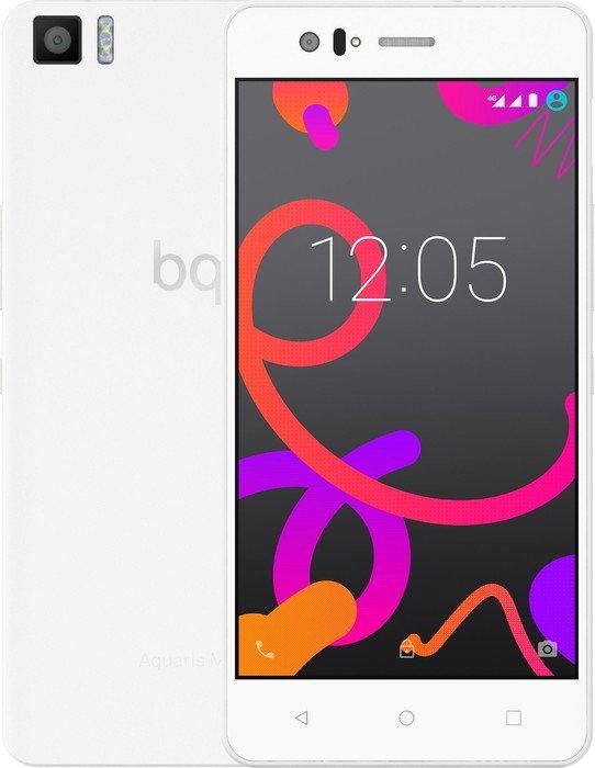 BQ Aquaris M5 LTE + Dual-SIM (5'' FHD IPS, Snapdragon 615 Octacore, 3GB RAM, 32GB eMMC, 13MP + 5MP Kamera, kein Hybrid-Slot, 3120mAh, Android 6 -> 7) für 178,84€ [Amazon.es]