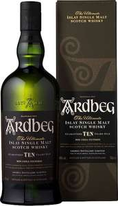 Whisky - Ardbeg TEN 1 Liter - 39,99€ (Grenzgänger CZ Travel-Free-Shop)