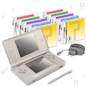 [Ebay / konsolenkost] Nintendo DS Lite Handheld Konsole + 10 Spiele , Gebraucht mit Netzteil