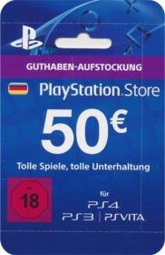 Playstation PSN 50€ Guthaben für 35,00€ (Paydirekt)