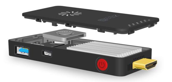 [Gearbest] Mini PC Z83S: Intel Atom X5-Z8350, 2GB RAM, 32GB Speicher (erweiterbar), WLAN, Bluetooth 4.0, Micro USB, USB3.0, Win10 für 66,84€