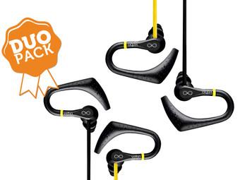 [iBood] Duo-Pack Veho ZS-2 Wasserdichte Sport-In-Ears