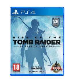 Rise of the Tomb Raider: 20-jähriges Jubiläum DAY 1 Edition inkl. Artbook [PS4] 26,90 EURO @Rakuten