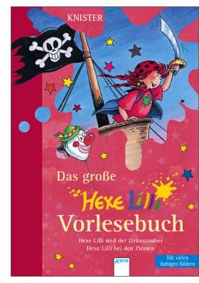 Neue Kinderbücher im Sale mit 15% Rabatt extra bei [Thalia] z.B. Das große Hexe Lilli Vorlesebuch für 4,24€ statt 12,99€