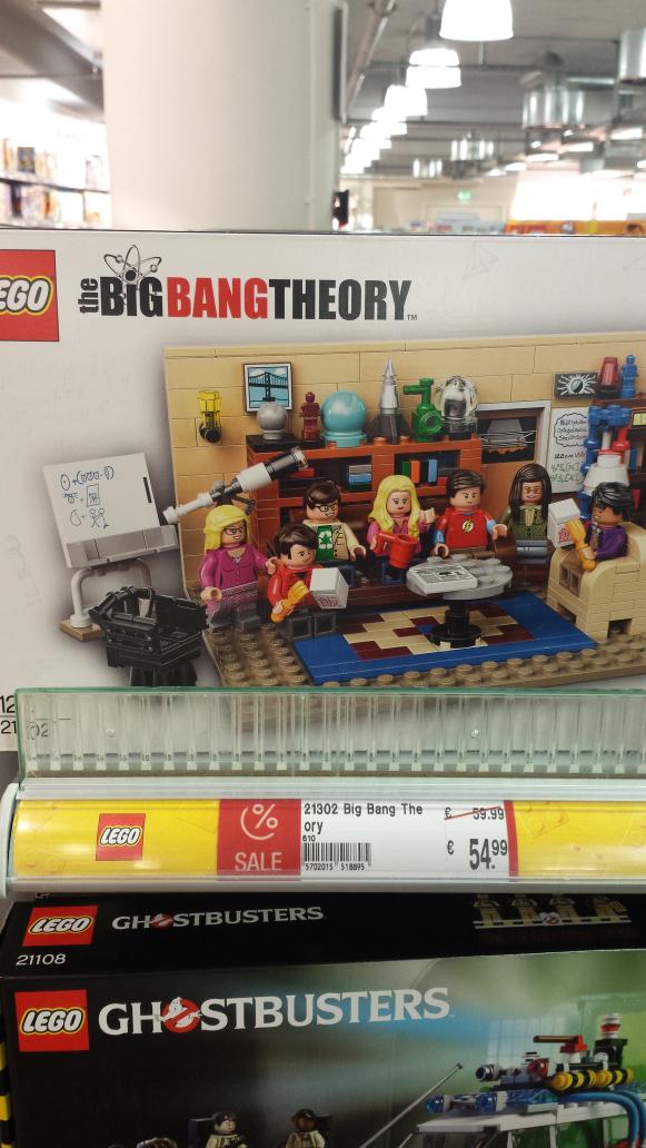 [LOKAL Koblenz] Lego Big Bang Theory
