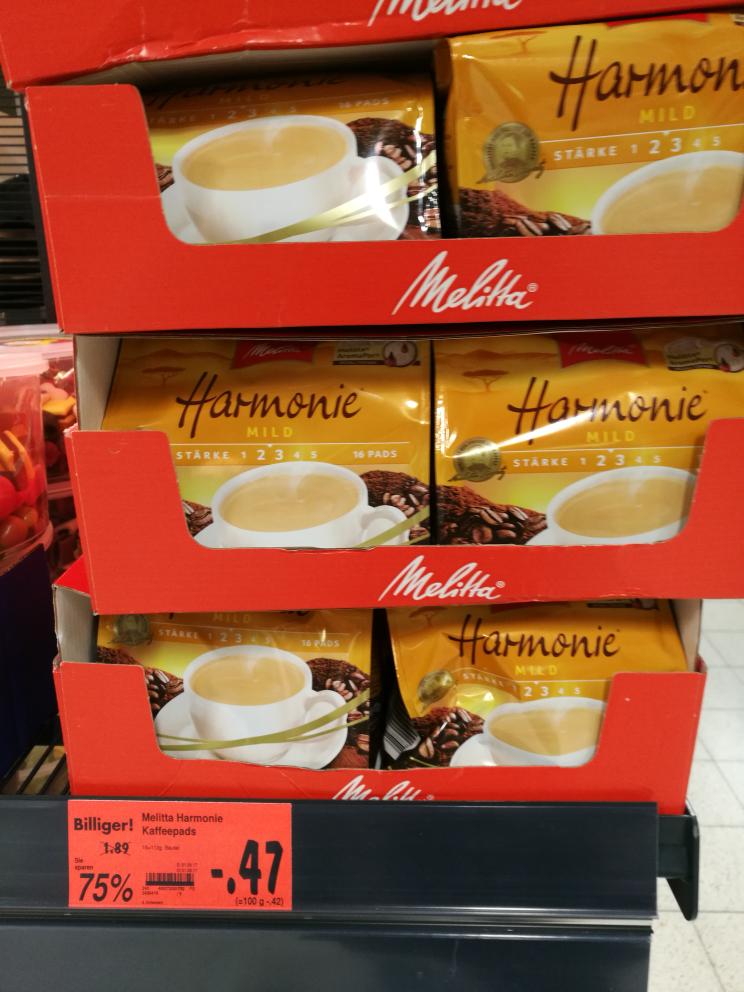 [Kaufland Spremberg lokal] Melitta Harmonie Kaffeepads