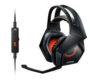 Asus Strix 2.0 Gaming Headset (abnehmbares Mikrofon, PC/PS4/MAC) schwarz