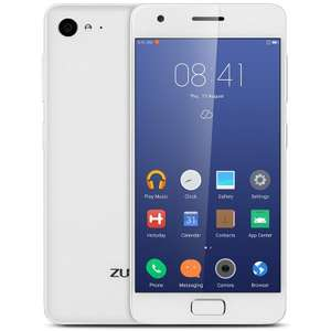 Lenovo ZUK Z2 weiß (5'' FHD IPS, Snapdragon 820, 4GB RAM, 32GB eMMC, 13MP + 8MP Kamera, Band 20, USB Typ-C, 3100mAh mit Quick Charge , Android 6->7) 304,76€