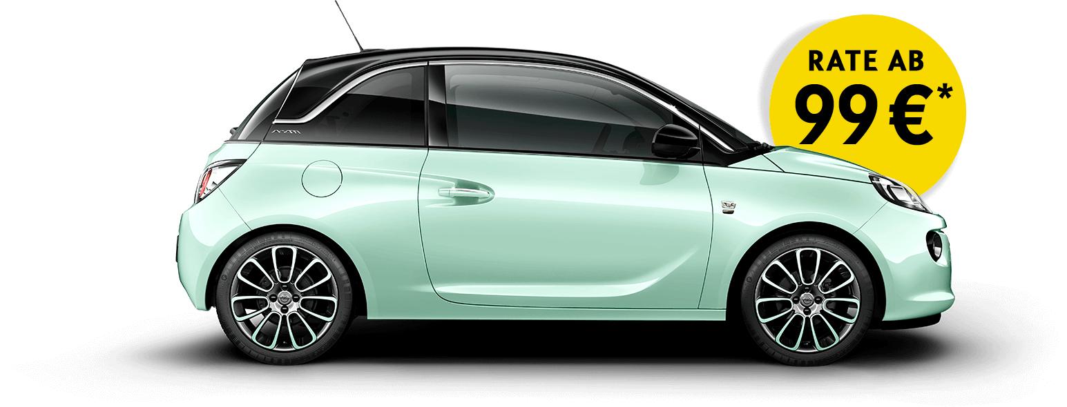 "Opel Adam ""Germanys Next Topmodel"" Leasing @amazon"