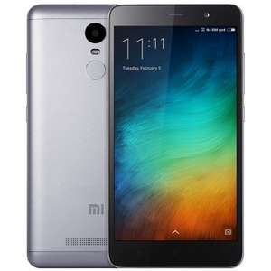 Xiaomi Redmi Note 3 Pro (grau) - 3GB RAM - 32GB Speicher - International Version (Gearbest)