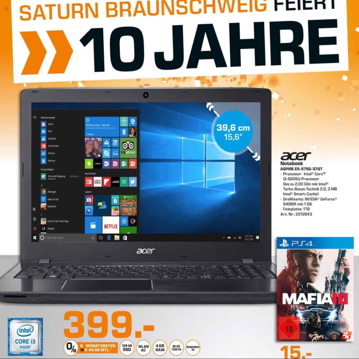 [Saturn Braunschweig] Acer E5-575G-37QT