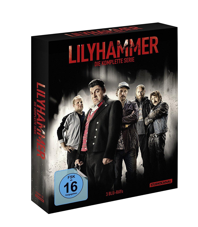 Lilyhammer komplette Serie [Blu-ray] bei Alphamovies für 19,94€
