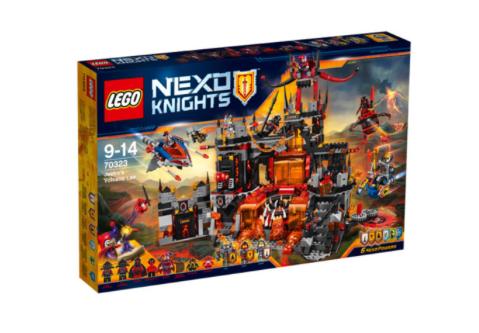 15% Rabatt auf Playmobil & Lego (auf ausgewählte Artikel) bei [real] z.B. Lego 70323 Nexo Knights - Jestros Vulkanfestung für für 67,21€ bei Abholung
