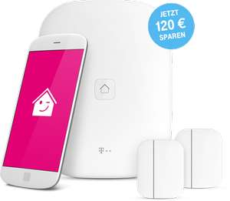 Telekom Magenta Smarthome Dienst 4,95€ Monat + Homebase kostenlos + 2 Türkontakte im Paket + Cashback