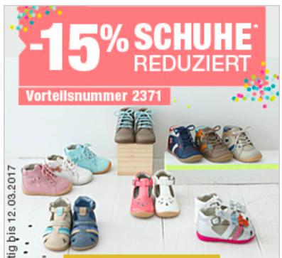 15% Rabatt auf alle Kinderschuhe bei [vertbaudet] Sneaker ab 15€, Gummistiefel ab 18€