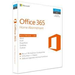 [Cyberport ] Microsoft Office 365 Home (1 Benutzer/ 5 PC/ 1 Jahr) Mac/Win