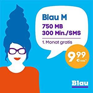 Gratis Blau M SIM-Karte beim Kauf eines Smartphones (Amazon)