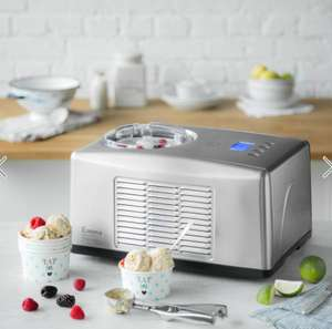 Ice Ice, baby! Eismaschine Emma mit Kompressor von Springlane Kitchen für 143,10€ VSKfrei statt 199€