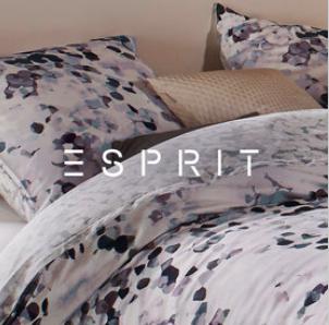 Kuscheln mit Esprit: Bis zu 75% Rabatt auf Esprit Home in der Zalando Lounge, z.B. Bettwäsche 40,90€ inkl. VSK statt 79,90€
