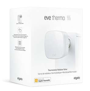 [Amazon Blitzangebot] Elgato Eve Thermo - Heizkörperthermostat mit Apple HomeKit für 48,95€