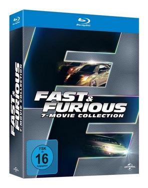 Fast & Furious 1-7 Blu-ray Box für 20,49€ inkl. Versand (Thalia)