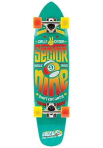 Cooles Holz Longboard Sector 9