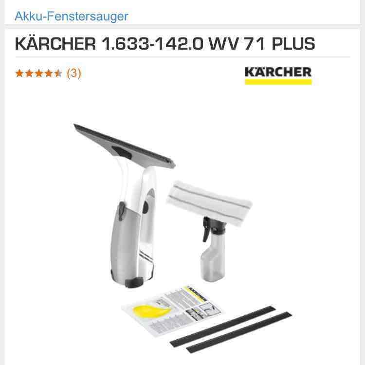 Kärcher WV 71 Plus bei Saturn ab 02.03. für 39€ nur Berlin
