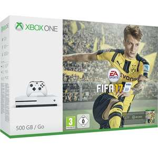 Microsoft Xbox One S 500GB + FIFA 17 für 233,77€ (Bol.com)