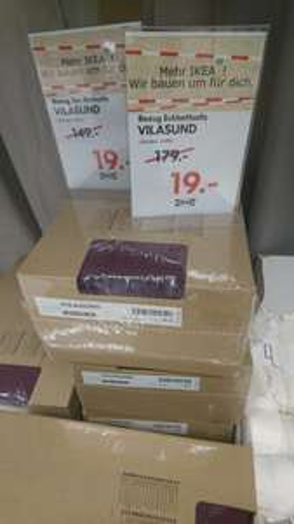 [lokal] Ikea Augsburg: Bezug Eckbettsofa Vilasund für 19 statt 179€