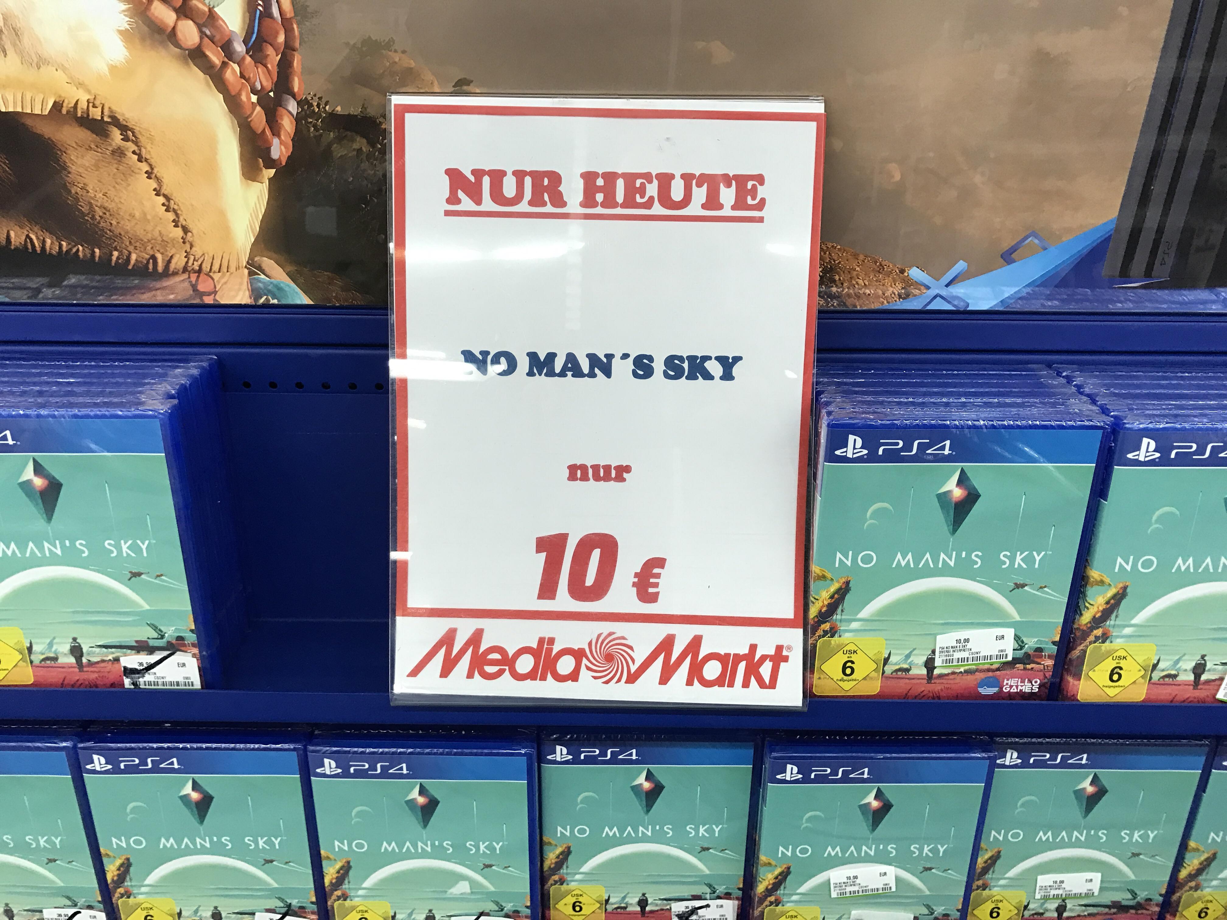 [Lokal] MM Stade - No Man's Sky für nur 10€