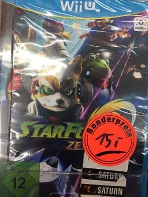Star Fox Zero + Mario Tennis Wii U je 15€, No Mans Sky PS4 10€ (lokal Saturn Hamm)
