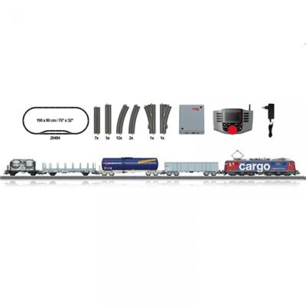 [mueller.de] Drogerie Müller online - Märklin 29484 - Digital-Startpackung Schweizer Güterzug 230 Volt H0 VI SBB