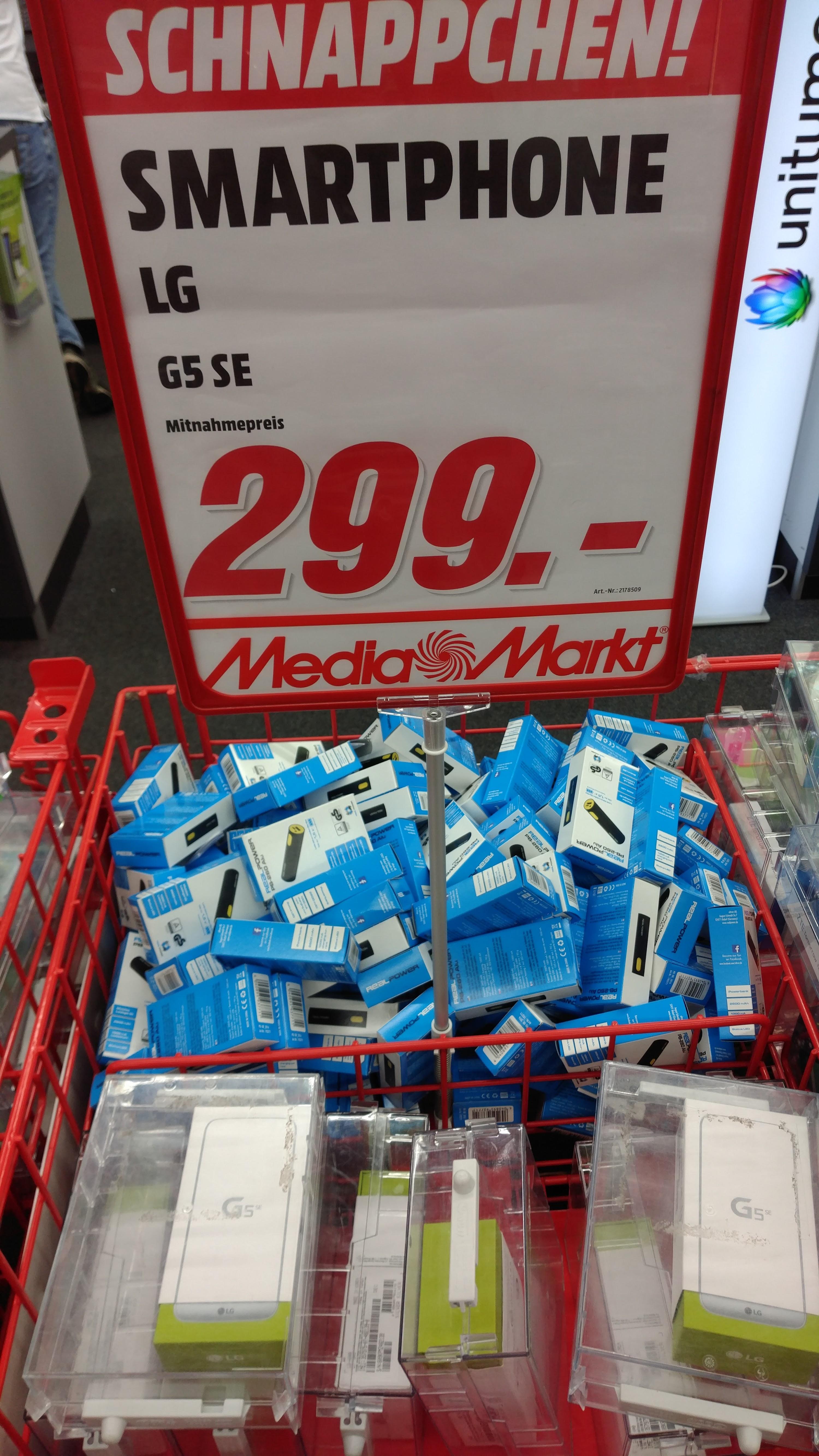 [Lokal Media Markt Bonn] Lg G5 SE