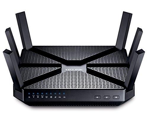 [amazon.es] TP-Link AC3200 Gigabit Dualband Wireless Lan Gaming Router Archer C3200(für Anschluss an Kabel/DSL/GlasfaserModem, 600 Mbit/s(2,4GHz)+2x1300 Mbit/s(5GHz), Beamforming, IPv6, App Steuerung, USB 3.0) für 172€ statt 204€