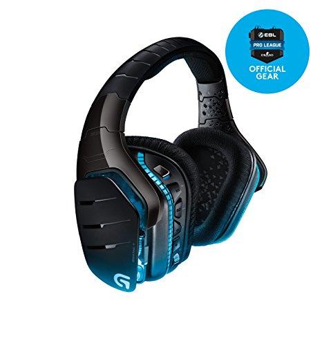 Logitech G933 Artemis Spectrum Kabelloses professionelles Gaming Kopfhörer (mit 7.1-Surround-Sound, 2,4-GHz-Verbindung, für PC, Xbox One und PS4) [Amazon]