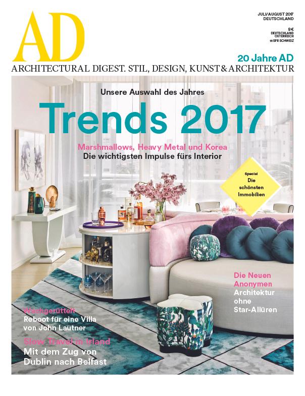 10 Ausgaben AD Architectural Digest für 68€ mit 65€ Amazon-Gutschein