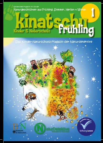 """KINATSCHU - Kostenlose Zeitschrift für Kinder - Heft """"FRÜHLING"""" gratis bestellen"""