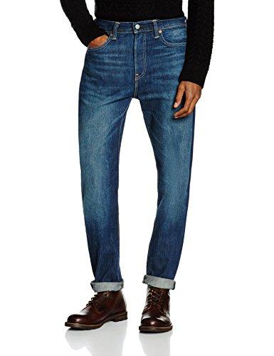 Levi's 522 Slim Fit Tapered Herrenjeans in blau (scandia) in versch. Größen für 30€ inkl. Versand statt 49,90€ bei Amazon