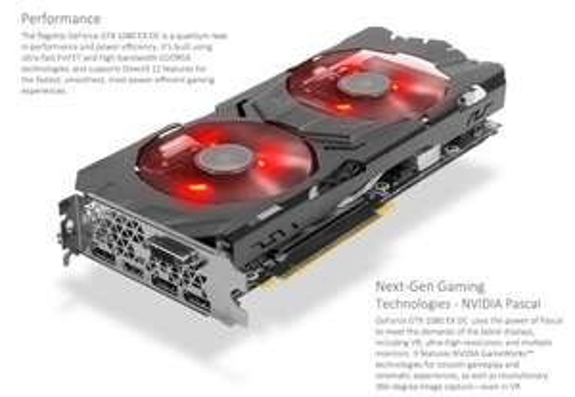 "KFA2 GeForce GTX 1080 EX OC Edition bei Mindfactory (+ ""Ghost Recon: Wildlands"" oder ""For Honor"")"