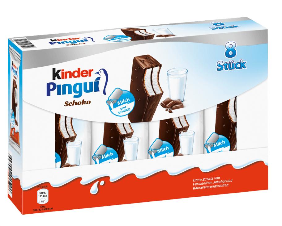 [Penny ab 06.03.] 8x Kinder Pingui für 1,74€