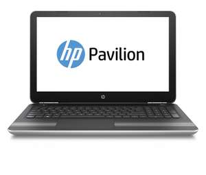 [Amazon] HP Pavilion (15-au111ng) 39,6 cm (15,6 Zoll / Full HD) Notebook (Laptop mit: Intel Core i5-7200U, 256 GB SSD, 8 GB RAM, NVIDIA Geforce 940 M 2 GB, Windows 10 Home) silber