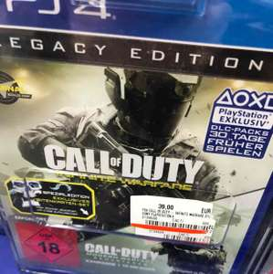 Call of Duty Infinite Warfare Legacy Edition inklusive Modern Warfare Remastered für PS4 für 39,- € [Lokal Media Markt Siegen]