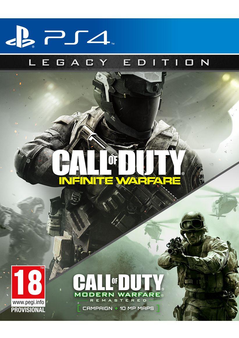 Call of Duty: Infinite Warfare Legacy Edition (PS4) für 35,14€ (Simplygames)