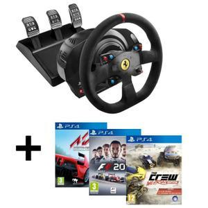 [Cdiscount] Thrustmaster T300 Alcantara Edition inkl. Assetto Corsa, F1 2016 und The Crew Wild Run (PS4) für 299,99€